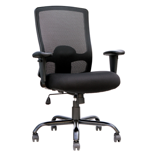 Quick Overview   This Eurotech Big and Tall is durable and recline adapts to weight of user. Chair tilts from a point under the center of the seat allowing user to rock back and forth. Tension adjustable.