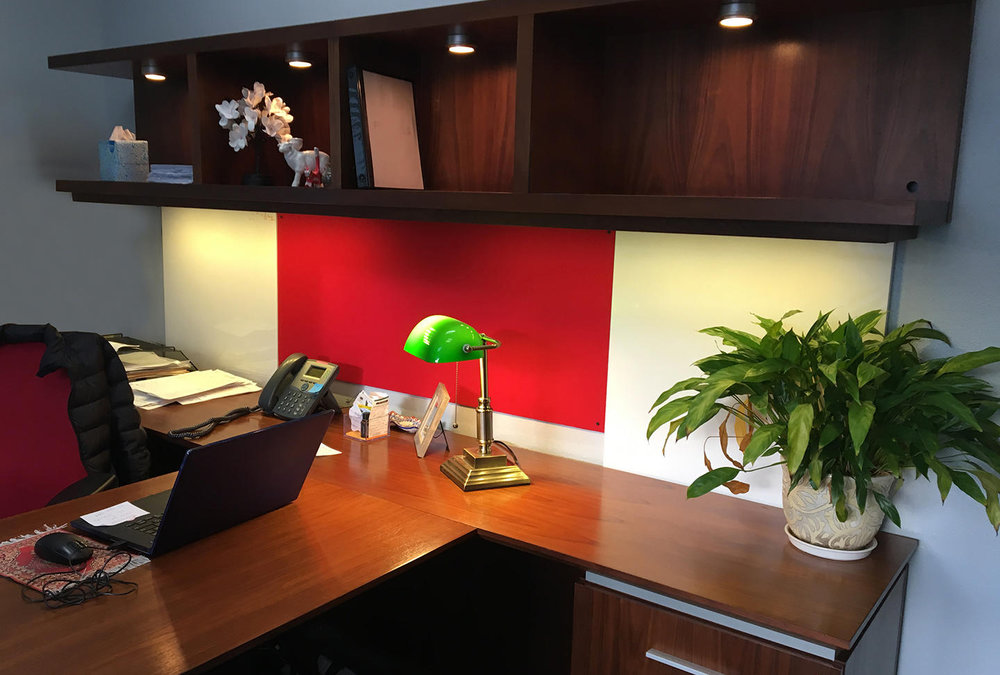 Completed Executive Desk install  at Halcyon Health Care (2)