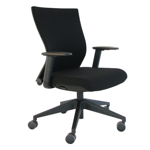 Quick Overview   Clean lines and balanced proportions are dramatically punctuated by the curved seat back, providing additional lumbar support so that you sit comfortably for lengthy periods of time. The Curv's waterfall seat design alleviates pressure and allows for good blood flow, a combination making for a more productive day.