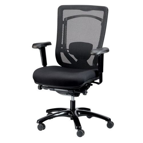 Quick Overview   A chair that has evolved from sophisticated design, the Monterey is beautifully proportioned and extremely comfortable. A milestone in ergonomic seating, it not only conforms to individual body shapes and weights, but also to movement. The titanium frame and base make it built to last and designed to enhance any office space.