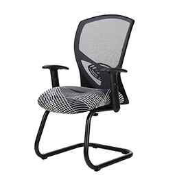 9to5 Theory Guest Chair with Mesh Back and Upholstered Seat   $441