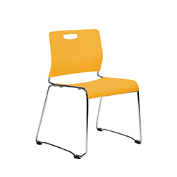 9to5 Kelley Armless Stacking Guest Chair   $157