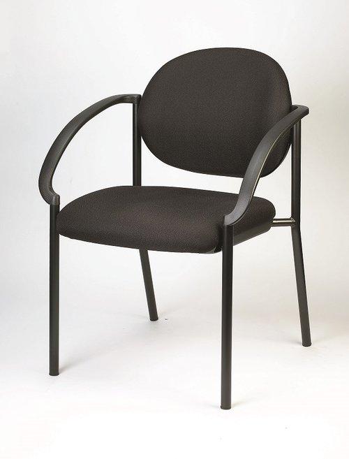 Eurotech Dakota Fabric Stack Chair   $129