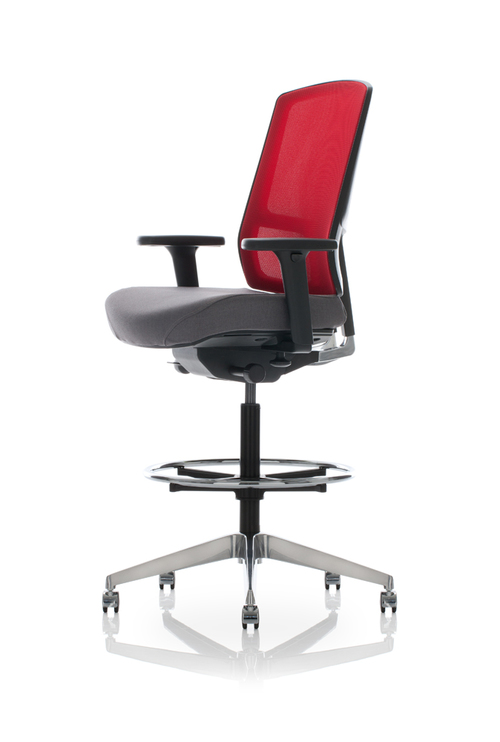 United Chair Expression Adjustable Back Stool   $809