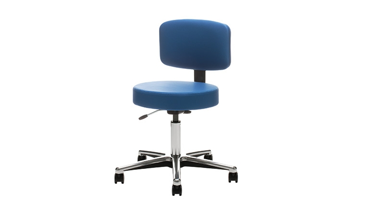 United Chair Medical Stool with Back   $483
