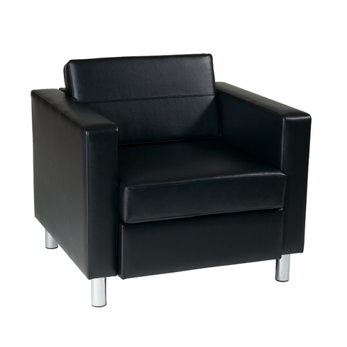Quick Overview   Lounge It- This OFD Club Chair features comfortable foam cushion with Dacron wrapping that ensures your cushion appears more even and filled.