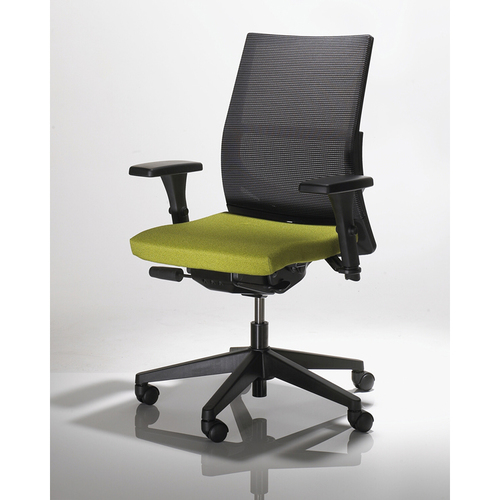 Quick Overview   Designer Paolo Favaretto has created a personalized chair designed exclusively to suit the needs and tastes of every user. Three state-of-the-art mesh or upholstery back options provide for unique styling choices. A highly efficient chair in structure and performance, Saggio inspires users with both comfort and energy making it perfect for today's fast-paced office environments.