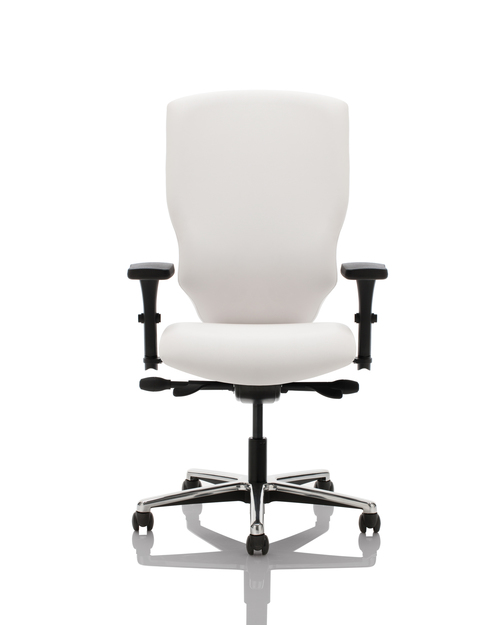 Quick Overview   Design meets function in this collection created by Jonathan Ginat. Conceived with the busy organizations in mind, the Sensato collection allows extensive adjustments to maximize the comfort of its users. Exclusive lumbar support and highly functional arm pads give the final touch to this new standard in seating. Sensato, the sensible choice for ergonomic seating.