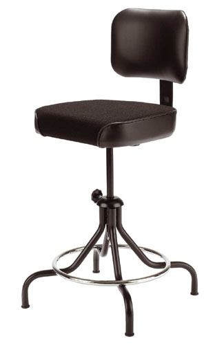 Quick Overview   A drafting stool available in a variety of styles. Low or high seat range, with or without a backrest, four or optional five-legged bases, these stools are trusted for durability and value.