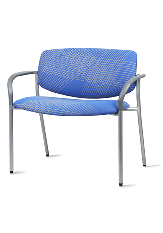 Quick Overview   This Shuttle Bariatric is a fully upholstered back and seat. Chair comes standard with arms.