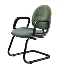 Quick Overview   This Precept Chair is well suited for guest seating.