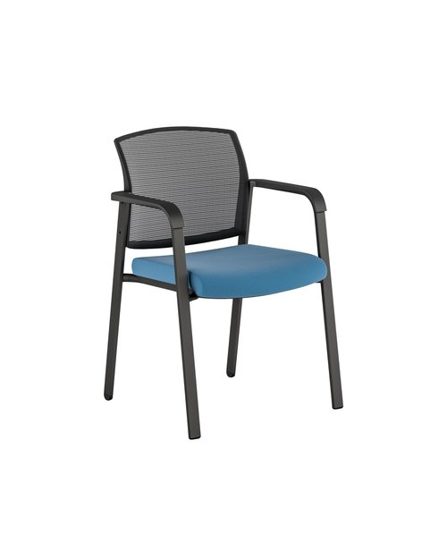 Quick Overview   Paxton, is a stackable mesh back side chair with softer edges. It's thoughtfully designed seat cushion offers comfort and support. The lightweight side chair is ideally suited for use in cafeteria, training spaces, classrooms, waiting rooms, auditoriums or any area where extra seating is required. Paxton can also be used as a cost-effective side or guest chair.