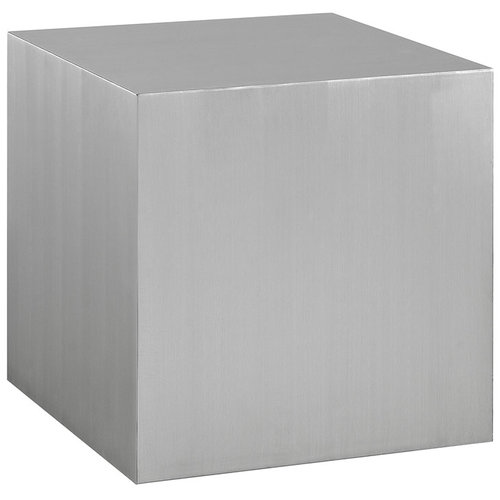Modway Cast Stainless Steel Side Table   266.00