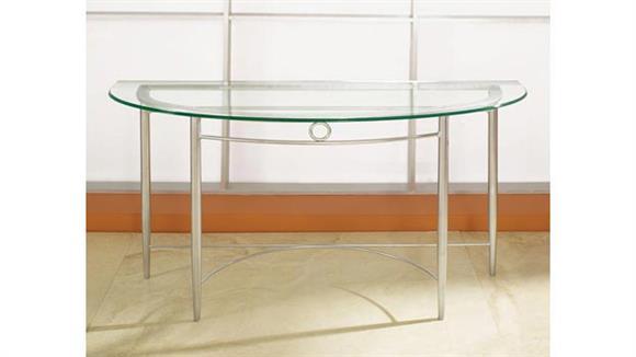 COE Malibu Glass Sofa Table   481.00