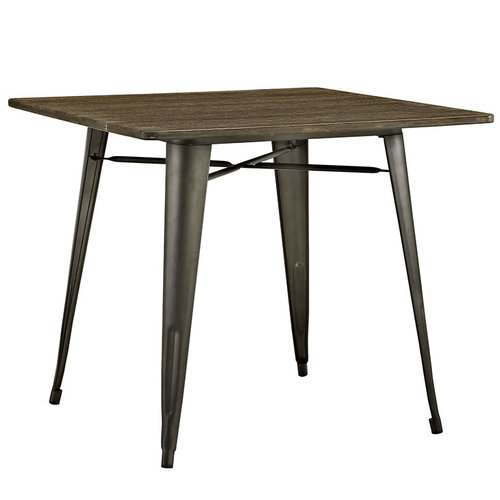 Modway Alacrity Square Wood Dining Table   223.00