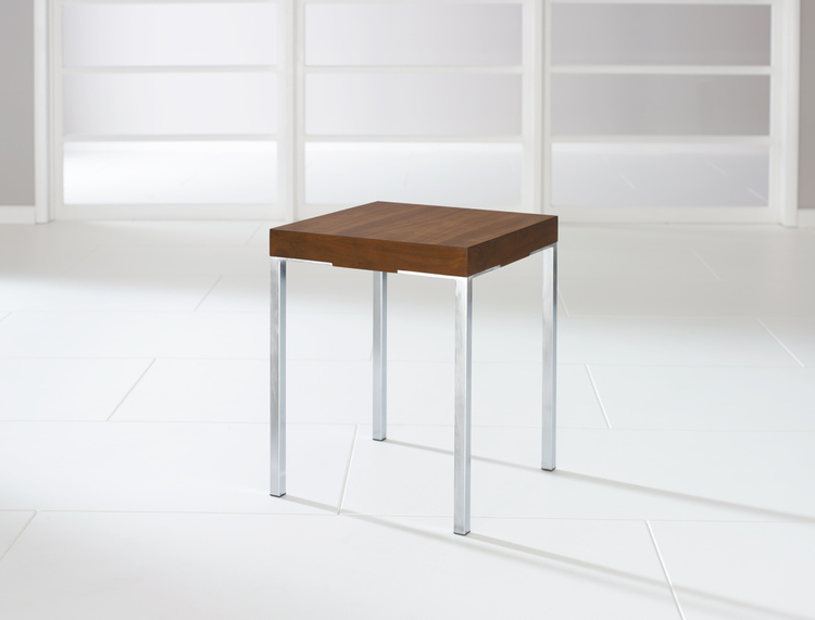 Quick Overview   An elegantly simple design combining rich veneers with refined brushed metal detailing.