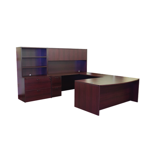 OFD Nexus U-Shape Desk with Hutch and Storage   1,605.00