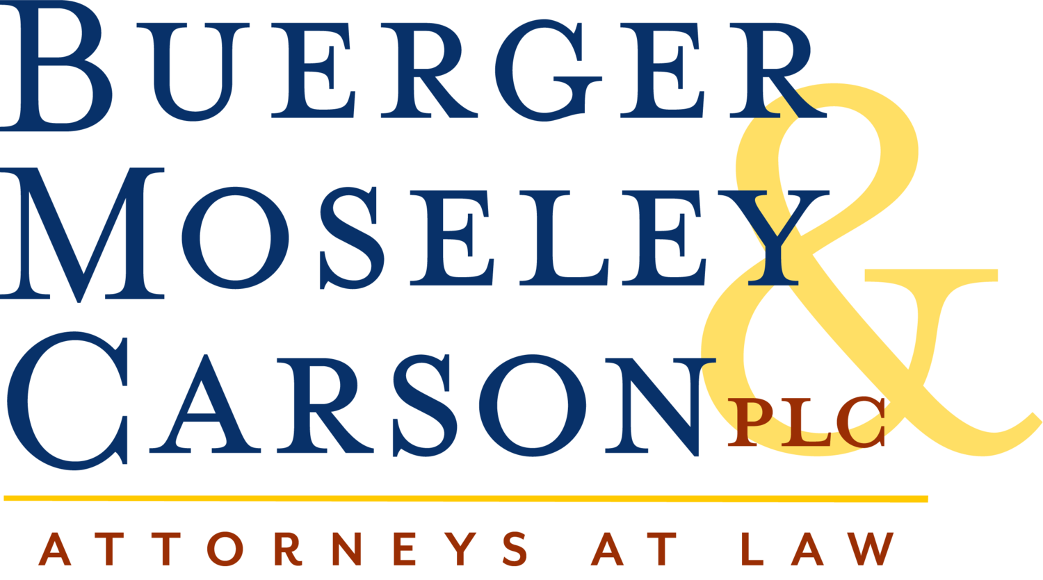 Buerger, Moseley and Carson, PLC