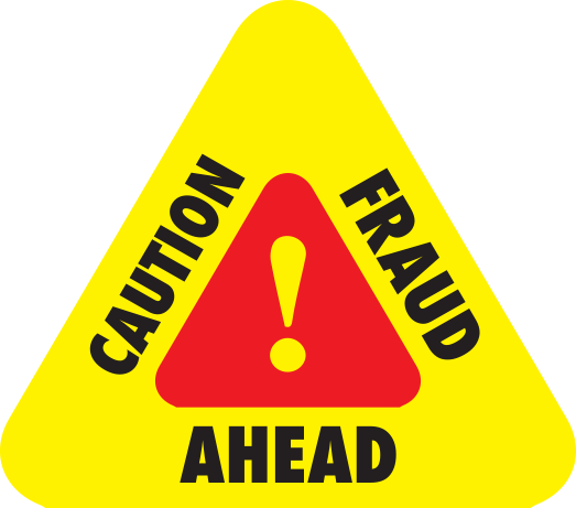 Caution Fraud Ahead
