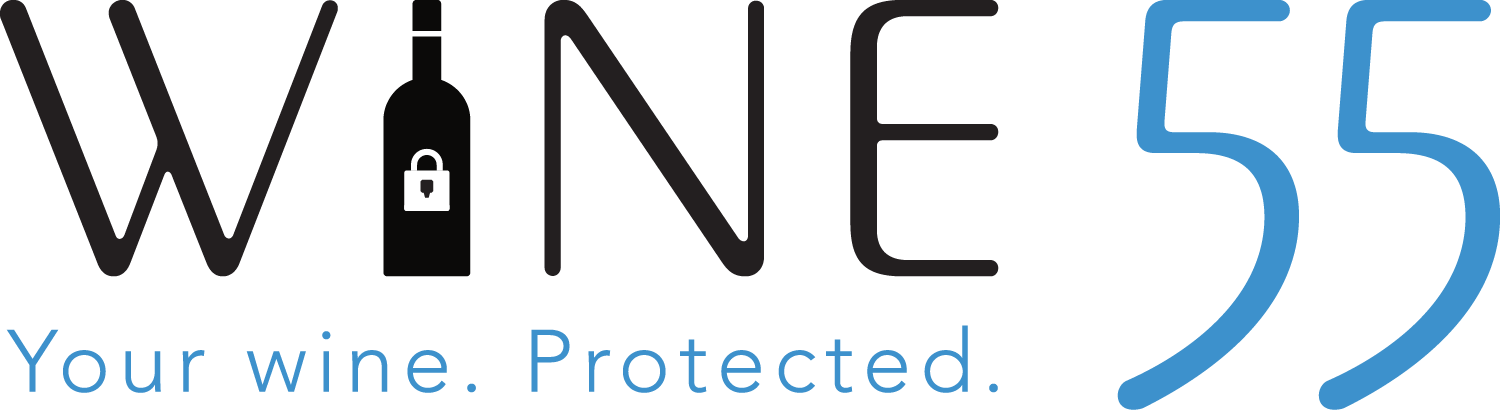 Your wine. Protected | Wine55