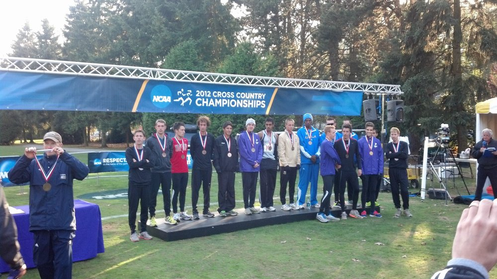15th Place at 2012 NCAA DI XC West Regionals