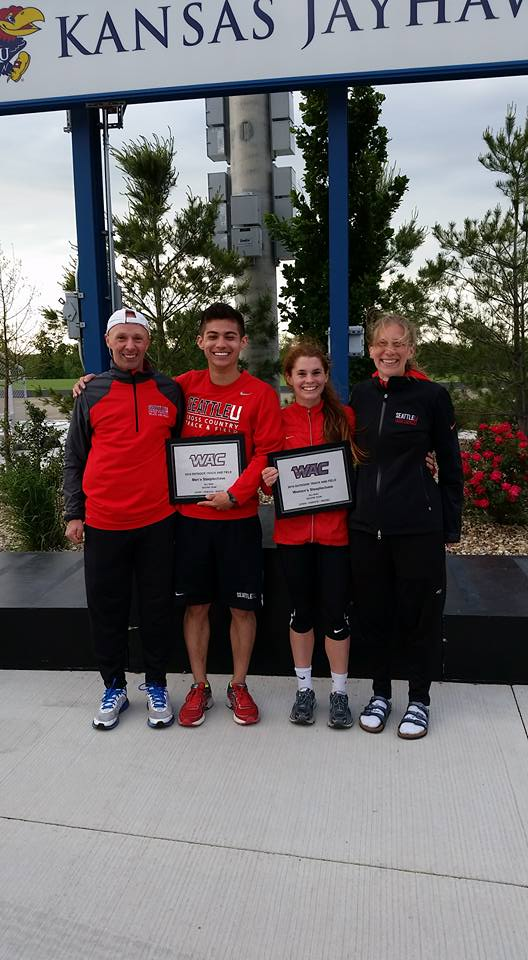 2016 WAC Outdoor Conference Steeplchasers