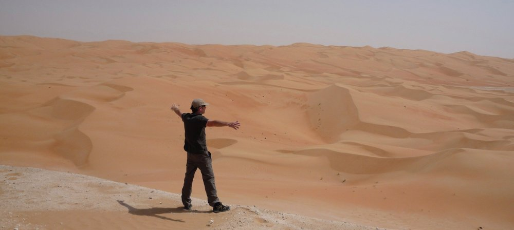 Rub' al Khali - shooting in the Empty Quarter, 2015