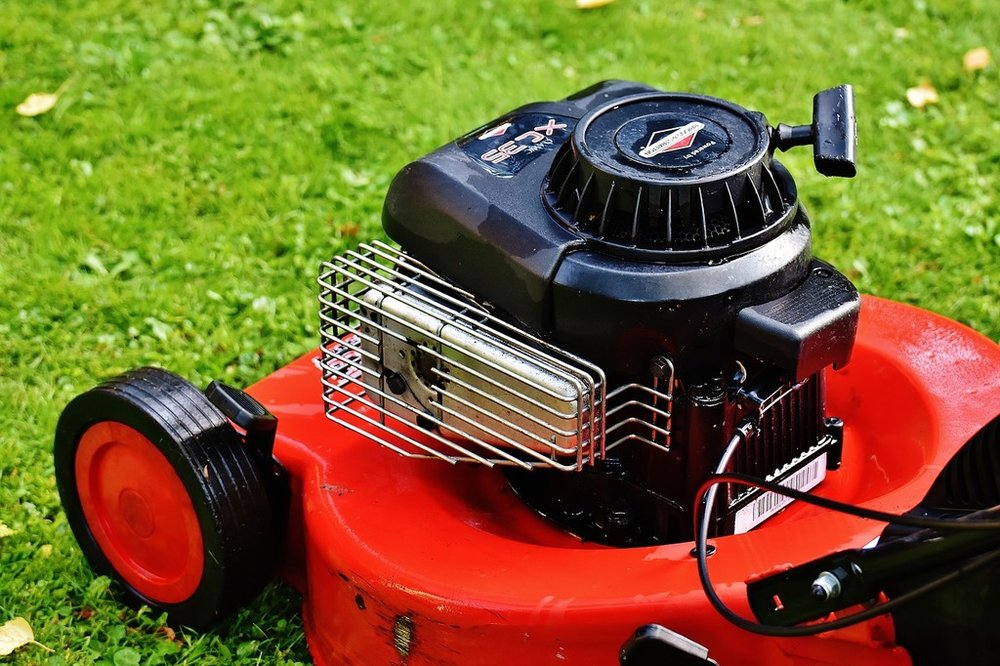 Lawn mower gardening mow, science technology..jpg
