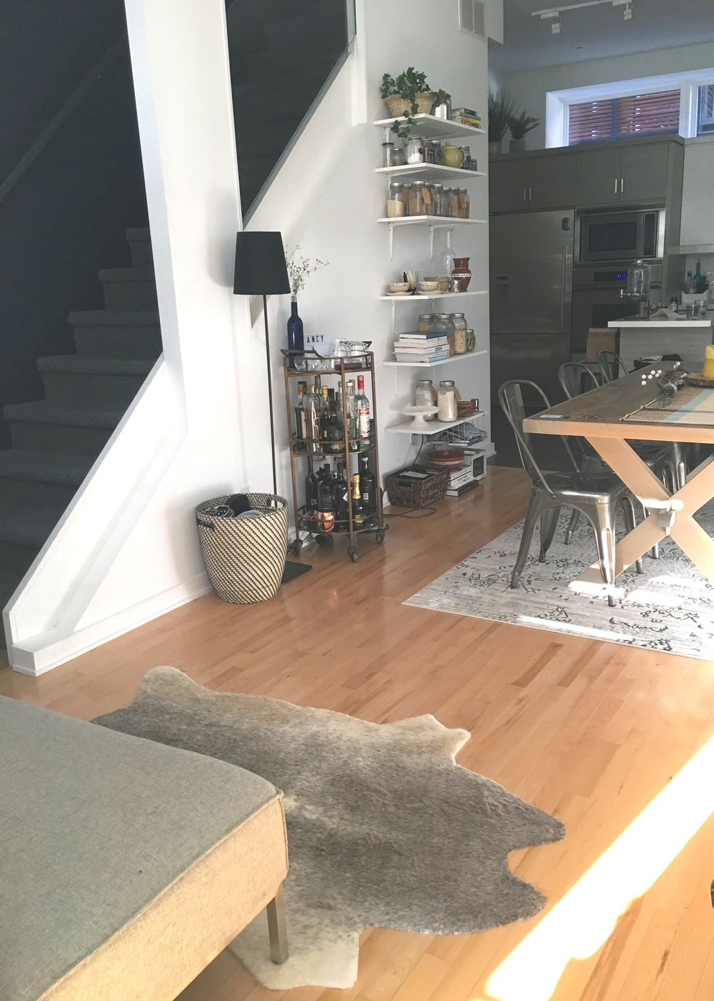 The main floor of my home after decluttering and redecorating!