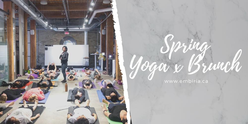 yoga and brunch toronto