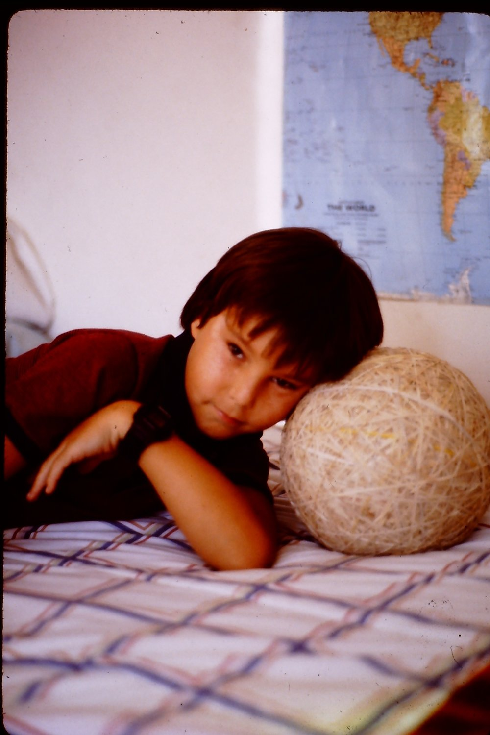 Me with the ball in 1985
