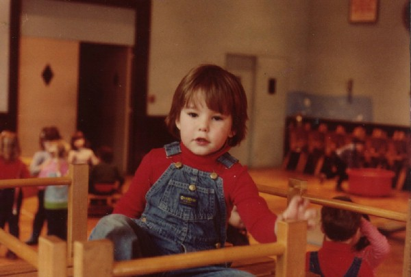 playing in nursery school