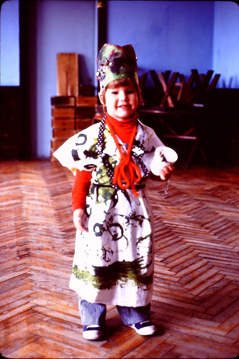 self-made costume for Purim