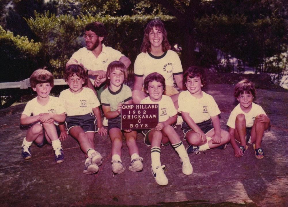 Camp Hillard group photo
