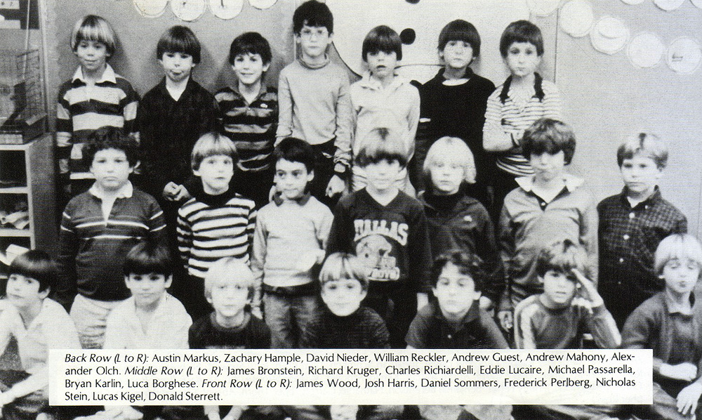 2nd grade class photo