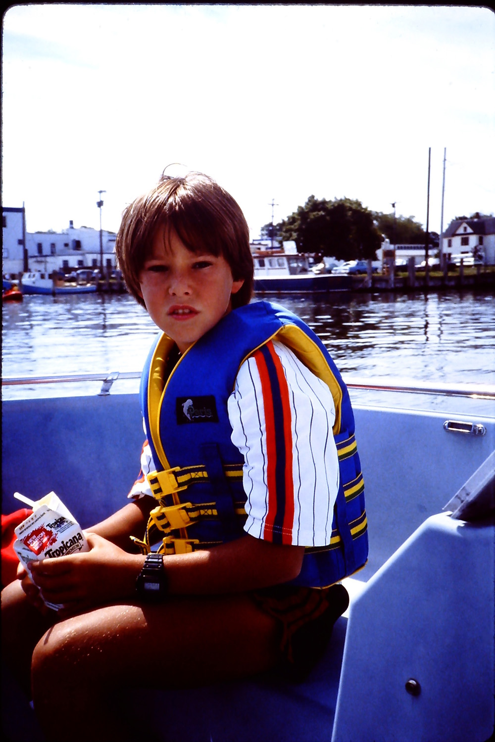 still not happy about the life jacket
