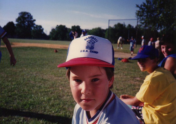 at Baseball U.S.A. Camp in New Jersey