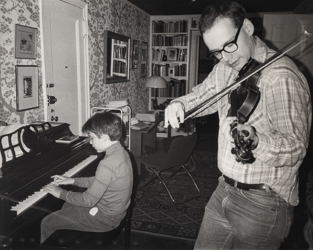 duet with my half-brother Henry