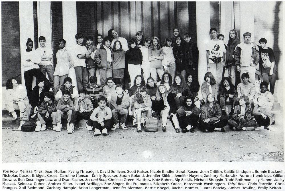 7th grade class photo