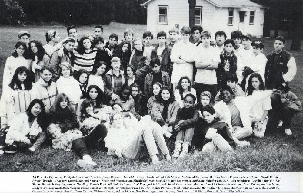 8th grade class photo