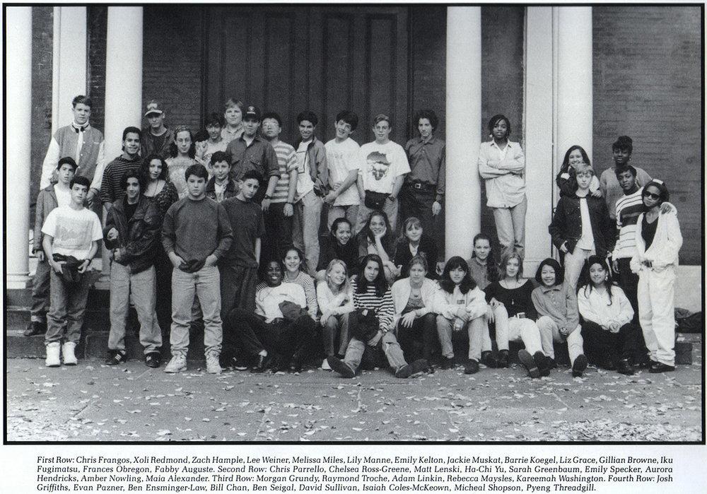 9th grade class photo