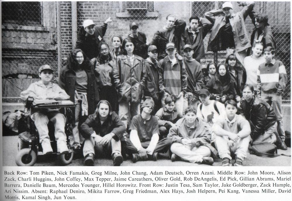 10th grade class photo