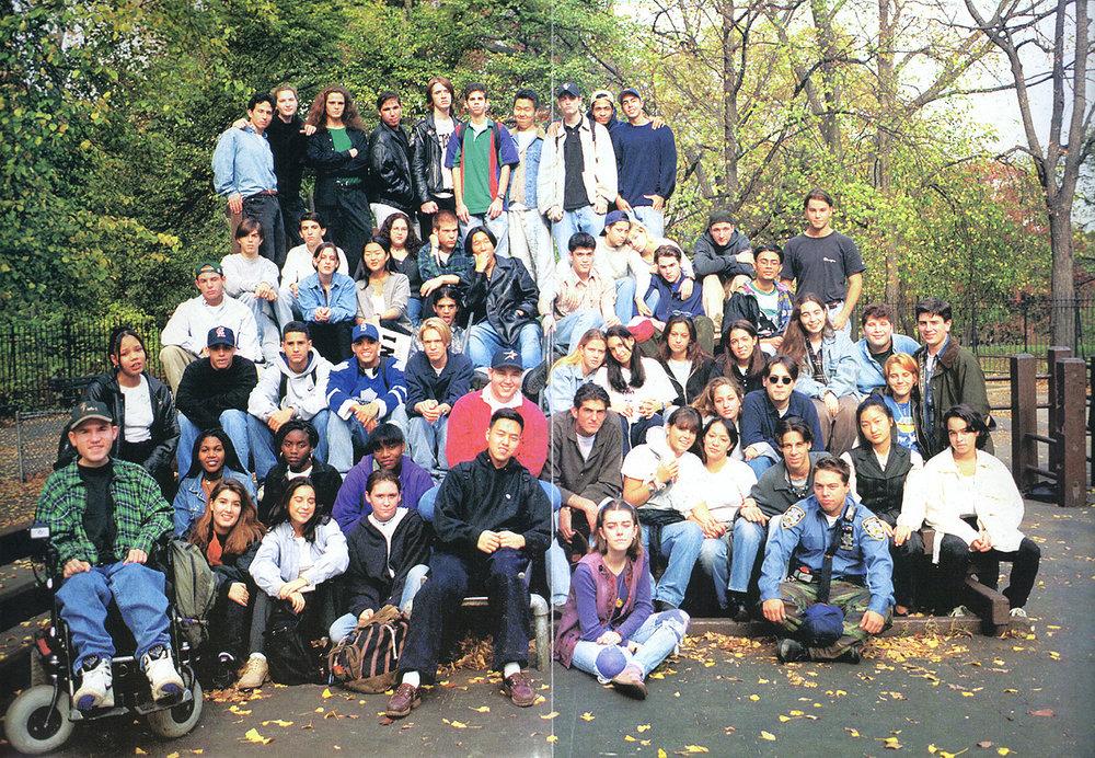 12th grade class photo