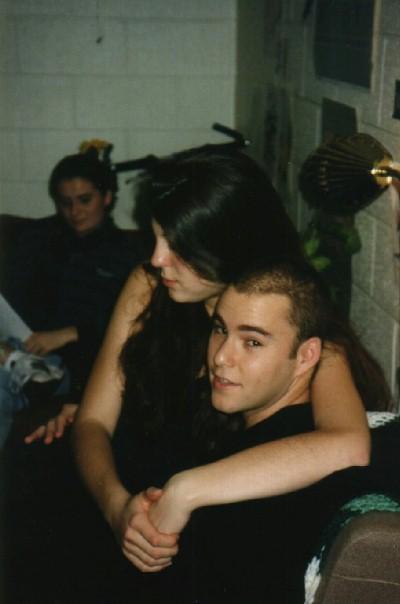 with my girlfriend Alli in her dorm