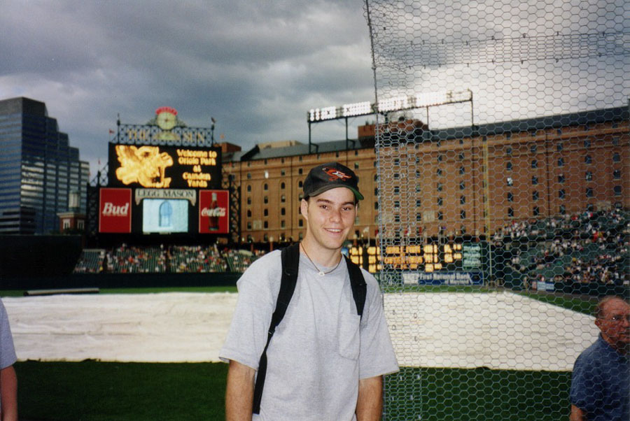 at Camden Yards