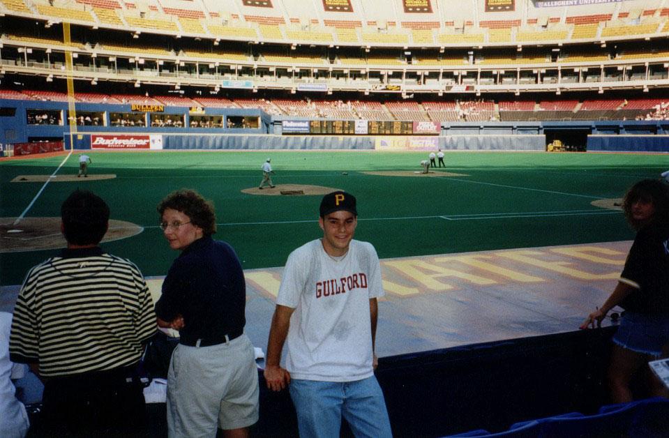 at Three Rivers Stadium