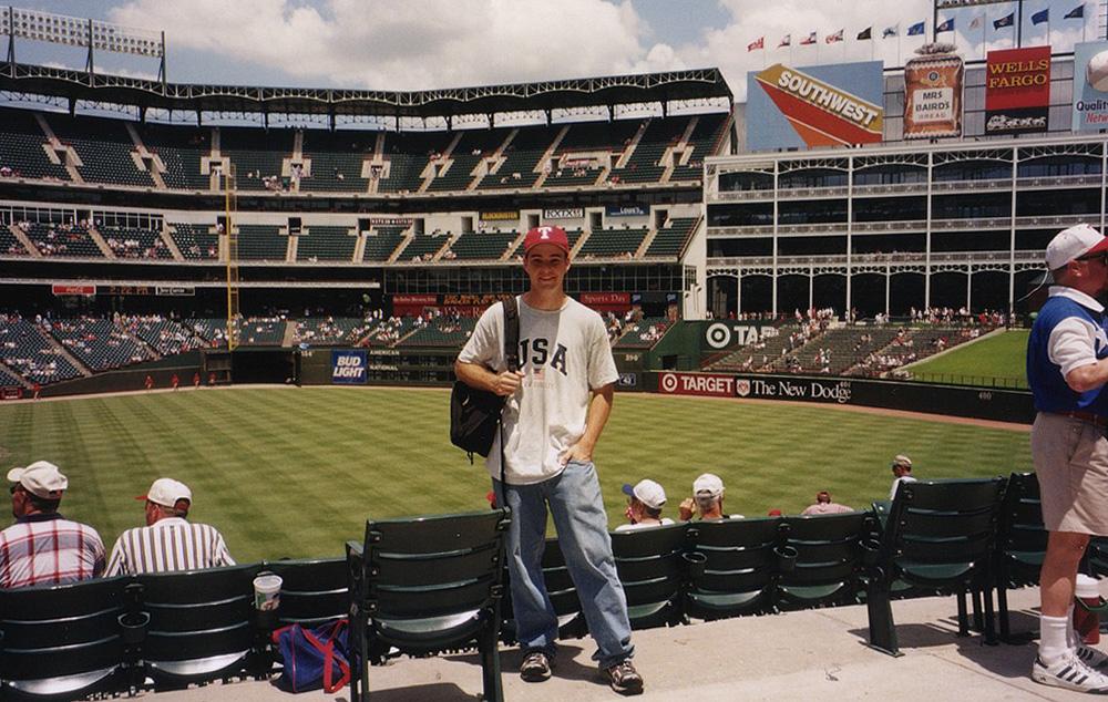 at the Ballpark in Arlington