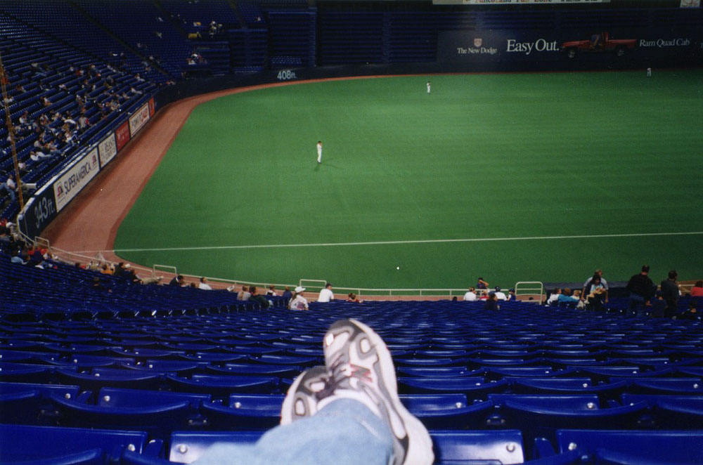 chillin' at the Metrodome