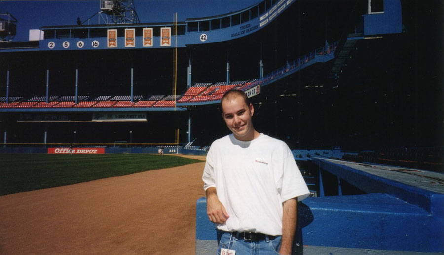 at Tiger Stadium