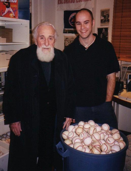 with Al Hirschfeld